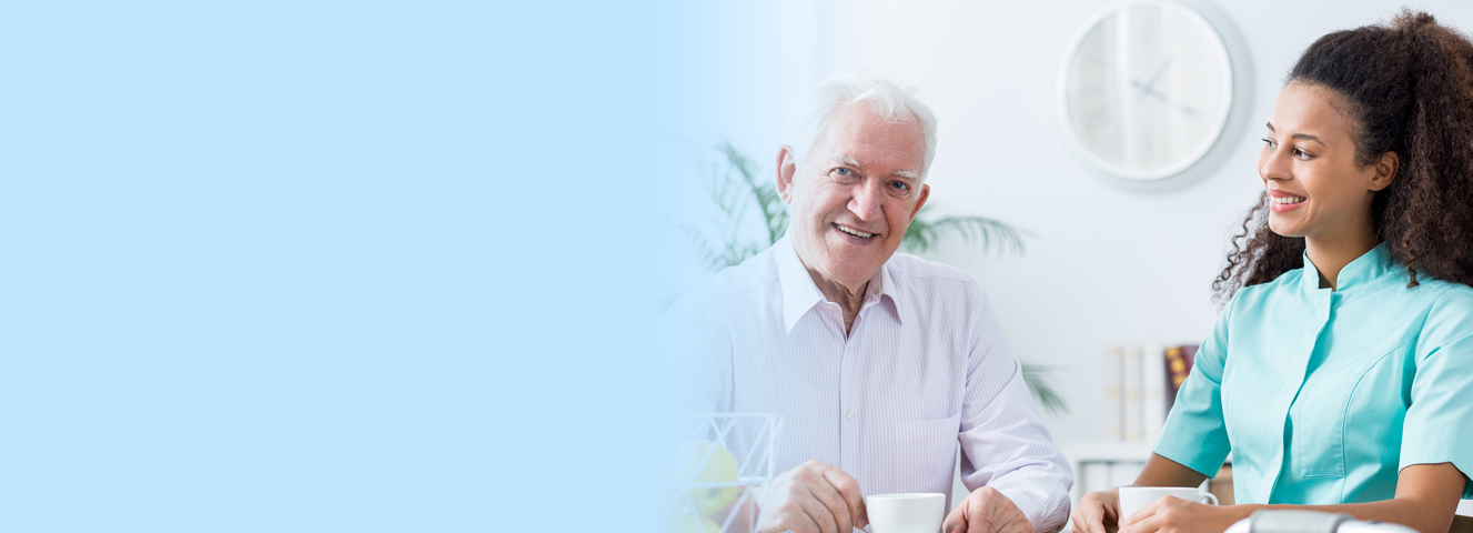 Caregiver with Senior in Rochester NY