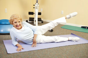 Home Care Rochester NY - How to Help Your Elderly Loved One Workout Easier